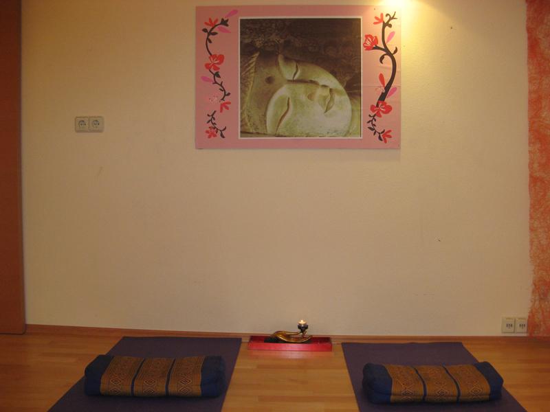 Eigener Yogaraum